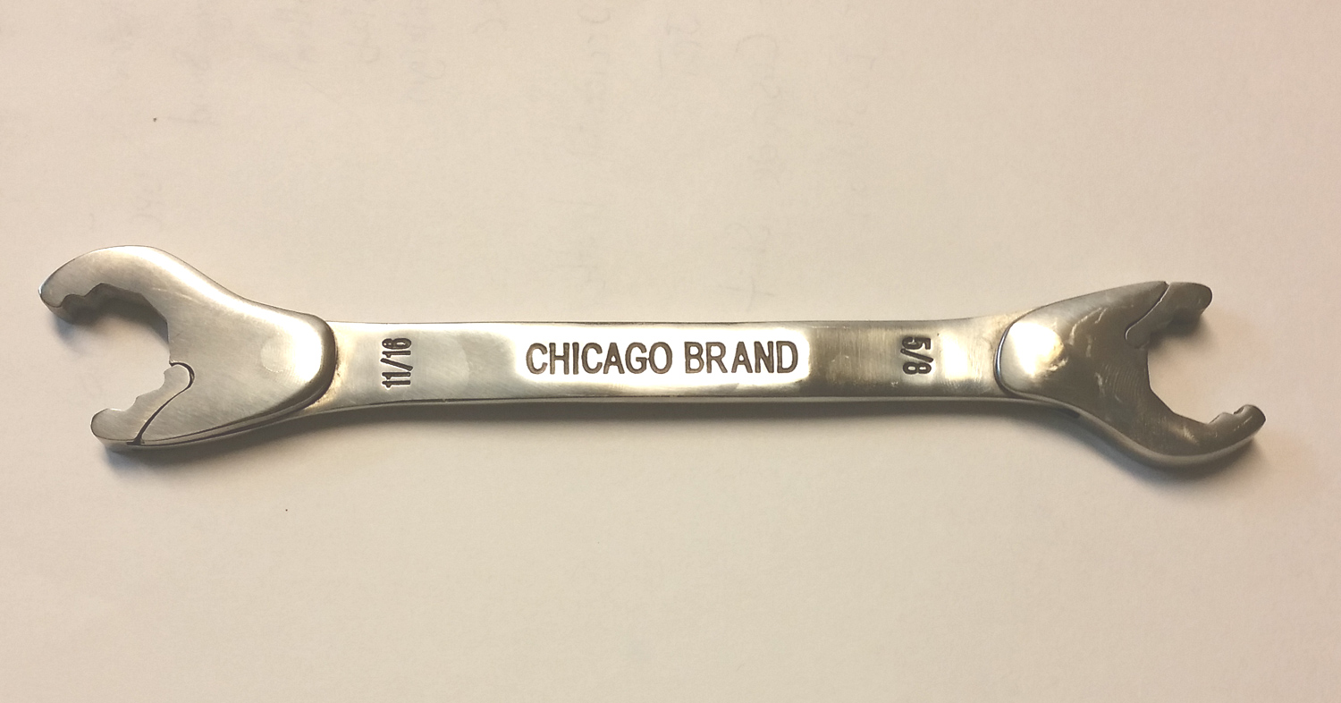 Chicago Brand 5 8 Quot 11 16 Quot Ratcheting Wrench