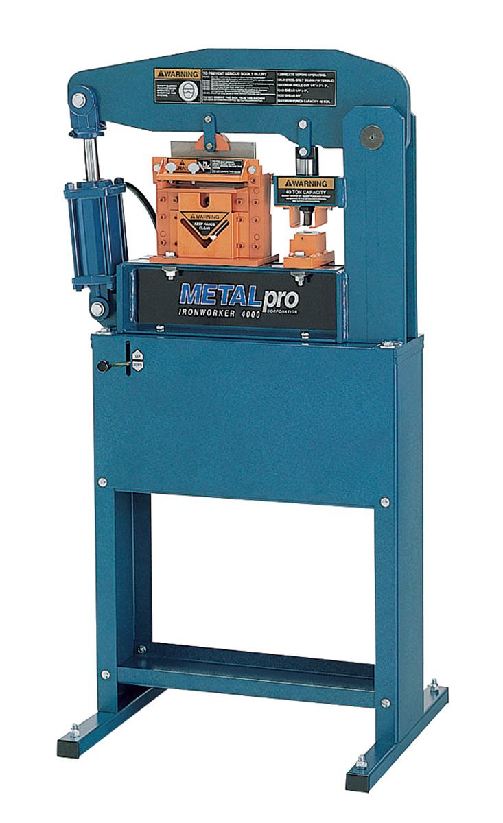 Metal Pro 40 Ton Ironworker