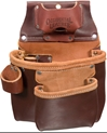 5018LH 2 Pouch ProTool Bag [Left Handed] occidental leather, tool belt, leather tool belts, toolbelts, left handed tool bag