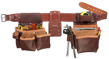 5087LH Framing Tool Belt Set [Left Handed] occidental leather, tool belt, leather tool belts, toolbelts,5087LH, left handed tool belt
