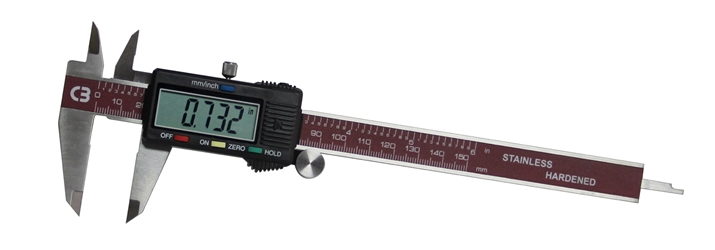 "6"" Digital Caliper (With Hold Button) digital caliper,"