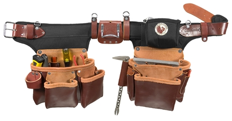 9550LH  Adjustable Pro Framer [Left Handed] occidental leather, left handed tool belt, leather tool belts, toolbelts, tool belt, 9550LH