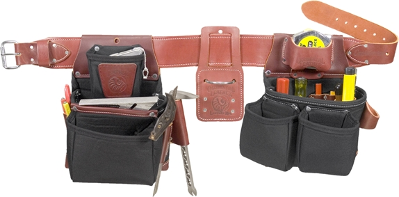 occidental b8080db oxy lights pro framer- nylon tool belt