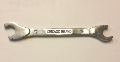 "Chicago Brand 5/8""-11/16"" Ratcheting Wrench ratchet wrench, ratcheting wrench, cb wrench, chicago wrench, alden wrench, hvac wrench"