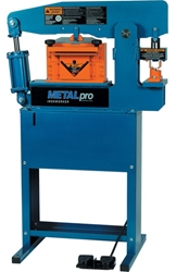 METAL PRO 45 TON IRONWORKER with Foot Switch 45 Ton Ironworker Machine