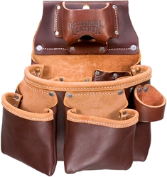 5018DB 3 Pouch Pro Tool Bag occidental leather, tool belt, leather tool belts, toolbelts, tool belt