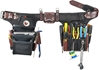 9596 Adjust-To-Fit Pro Electrician occidental leather, electricians tool belt, leather tool belts, toolbelts, tool belt, 9596