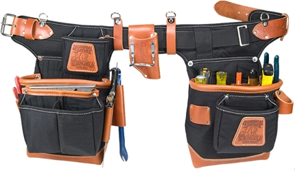 Occidental Leather 9850 Adjustable Fat Lip Tool Belt (black) occidental leather, tool belt, leather tool belts, toolbelts, tool belt, 9850, framer