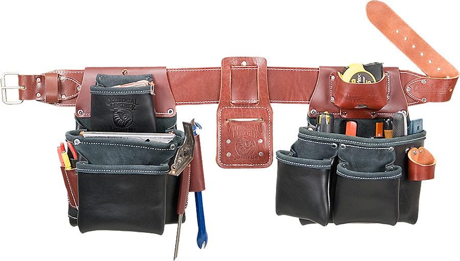 B5080db Pro Framer Toolbelt System Black Leather Occ