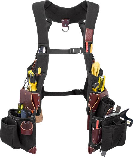 2580 SuspendaVest™ OxyLights™ Package occidental leather, suspenders, tool belt suspenders,  occidental suspenders