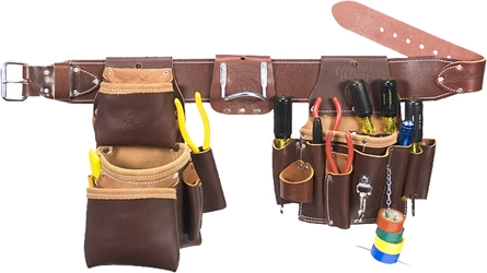 5036 Leather Pro Electrician Set occidental leather, tool belt, leather tool belts, toolbelts, 5036 electricians tool belt