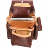 5062 4 Pouch Pro Fastener Bag occidental leather, tool belt, leather tool belts, toolbelts, tool belt