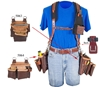 5093 Stronghold® Beltless™ 6 Bag Framer occidental leather, suspenders, tool belt suspenders,  occidental suspenders