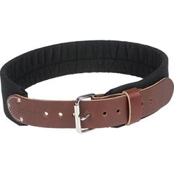 "3"" Leather & Nylon Tool Belt  occidental padded belt"