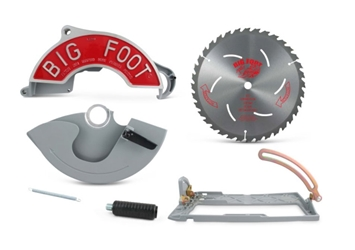 Big Foot Saw Adapter Kit (Style 1) bigfoot saw, big foot saw adapter, bigfoot adapter kit