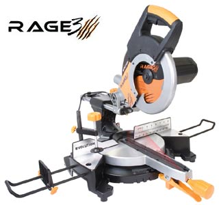"10"" Rage 3 Sliding Miter Saw"