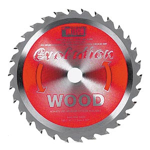 "Evolution 7"" Wood Cutting Blade Evolution 7"" Wood Cutting Blade"