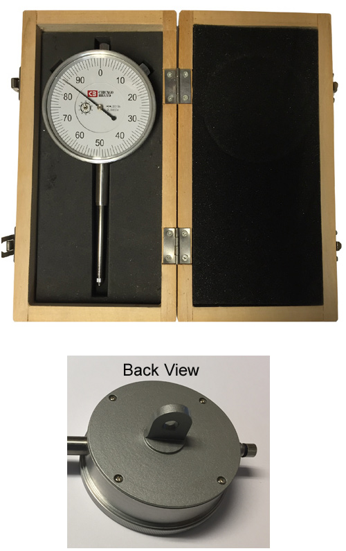 "0 – 2""  Large Face Dial Indicator - CB-50152B"