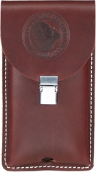 5328 Clip-On Leather Phone Holster - Large
