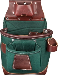 8584 Fat Lip Tool Bag (Green) occidental leather, nylon tool bag