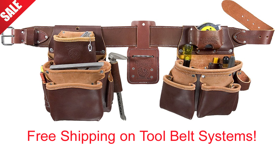 Leather Tool Belt Systems