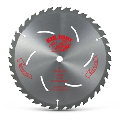 "10-1/4"" 36 tooth carbide Blade bigfoot sawblade, big foot saw blade"