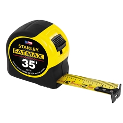 "35"" Stanley Fatmax Tape Measure tape measure, fatmax, fat max, stanley fatmax"