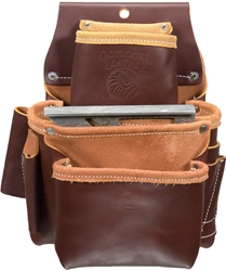 5060LH 3 Pouch Pro Fastener Bag [Left Handed] occidental leather, tool belt, leather tool belts, toolbelts, tool belt