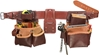 5080DBLH Pro Framer Tool Belt Set [Left Handed] occidental leather, left handed tool belt, leather tool belts, toolbelts, tool belt