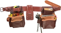 5080LH Pro Framer Tool Belt Set [Left Handed]  left handed tool belt system, lefty leather tool belts, toolbelts, tool belt
