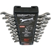 8pc  Open-End Ratchet Wrench Set - SAE ratchet wrench, ratcheting wrench, cb wrench, chicago wrench, alden wrench