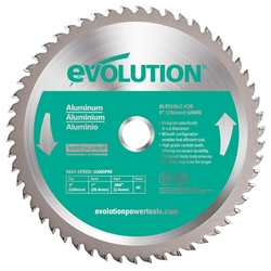 "9"" Aluminum Cutting Blade aluminum cutting blade, evo saw"
