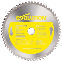 "9"" Stainless Steel Cutting Blade stainless cutting blade, evolution saws"