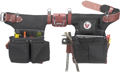 9515LH Adjustable Oxylights Framer [Left Handed] occidental leather, left handed tool belt, leather tool belts, toolbelts, tool belt, 9515LH