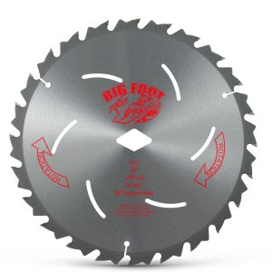 "Big Foot 7-1/4""  24T Saw Blade Big Foot 7-1/4""  24T Saw Blade, Bigfoot"