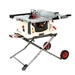 "JET JBTS-10MJS, 10"" JOBSITE TABLE SAW W/ STAND - 707000"
