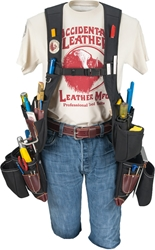 2518 Oxy Freedom™ Framer Suspension System occidental leather, suspenders, tool belt suspenders,  occidental suspenders