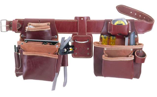 5080 Pro Framer™ Tool Belt Package occidental leather, tool belt, leather tool belts, toolbelts, tool belt