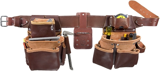 5080DB Pro Framer™ Tool Belt Set occidental leather, tool belt, leather tool belts, toolbelts, tool belt