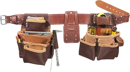 5089 Seven Bag Framer occidental leather, tool belt, leather tool belts, toolbelts, tool belt, 5089