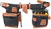 9850 Adjustable Fat Lip Tool Belt (black) - OCC-9850