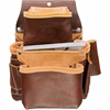 5060 3 Pouch Pro Fastener Bag occidental leather, tool belt, leather tool belts, toolbelts, tool belt