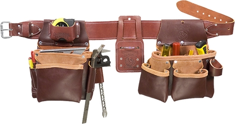 5087 Framing Tool Belt Set occidental leather, tool belt, leather tool belts, toolbelts, tool belt