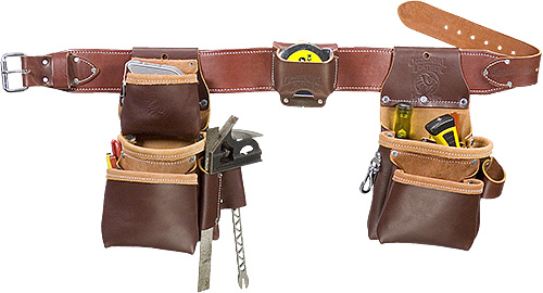 6100T Pro Trimmer™ Tool Belt with Tape Holster occidental leather, tool belt, leather tool belts, toolbelts, tool belt, 6100T