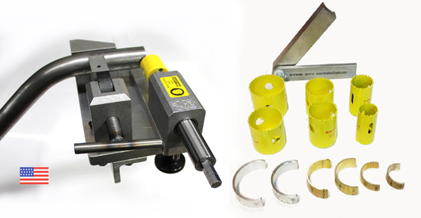 SYNC180JR Roll Cage Notching Package tube notcher, holesaw notcher, pipe notcher, tubing notcher, notching package