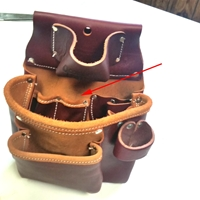 USED 5018 2 Pouch ProTool™ Bag  occidental leather, tool belt, leather tool belts, toolbelts, tool belt