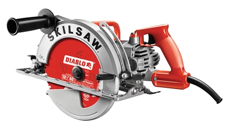 "10-1/4"" Magnesium SKILSAW Worm Drive with Diablo Carbide Blade"