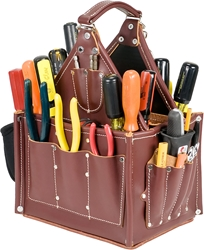 5585 Journeymans Tote occidental leather, tool tote